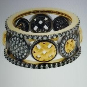 Freida Rothman Lattice Motif - 3 Stacking Rings
